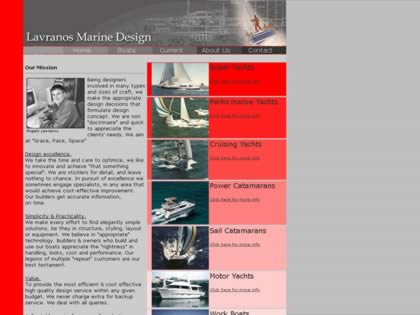 Cached version of Lavranos Marine  Design