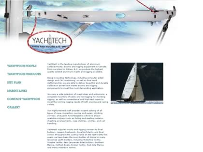 Cached version of Yachttech