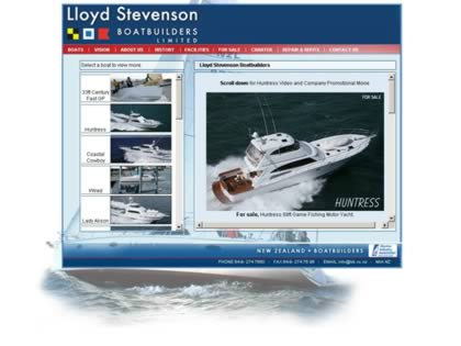 Cached version of Lloyd Stevenson Boat Builders