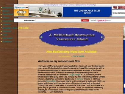 Cached version of Jim McClelland Boatworks
