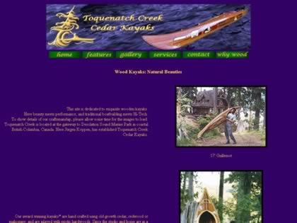 Cached version of Toquenatch Creek Cedar Kayaks