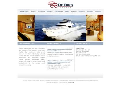Cached version of De Birs Yachts