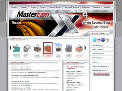Cached version of MasterCAM