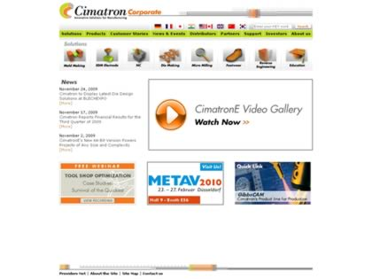 Cached version of Cimatron