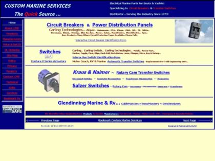 Cached version of Custom Marine Services