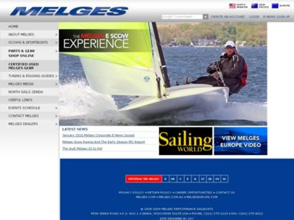 Cached version of Melges Performance Sailboats