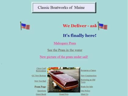 Cached version of Classic Boatworks of  Maine