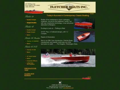 Cached version of Fletcher Boats