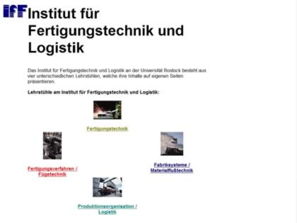 Cached version of University of Rostock