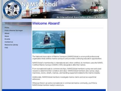 Cached version of National Association of Marine Surveyors