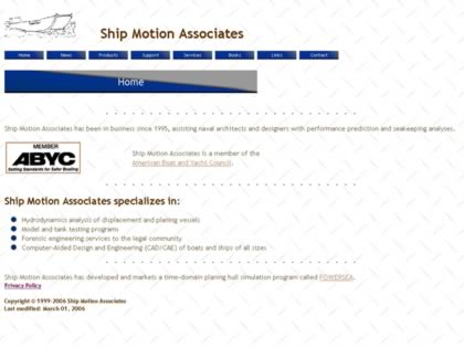 Cached version of Ship Motion Associates
