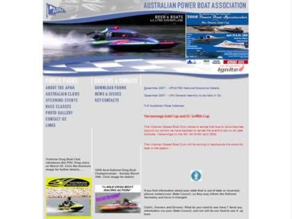 Cached version of Australian Power Boat Association