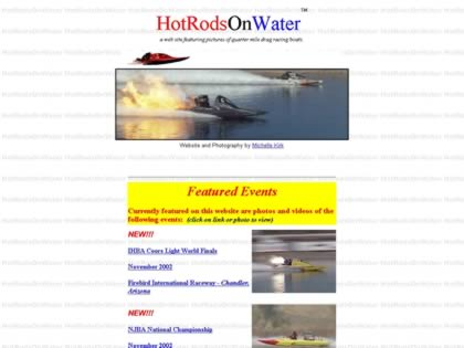 Cached version of Hot Rods On Water