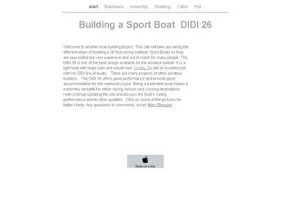 Cached version of Building a Sport Boat