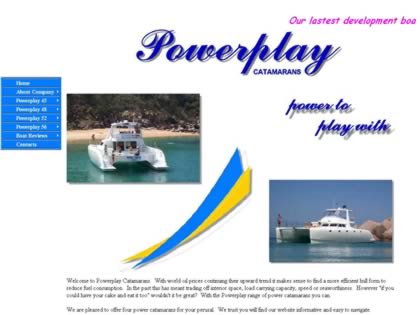 Cached version of Power Play Catamarans