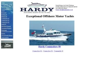 Cached version of Hardy Marine