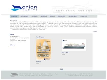 Cached version of Orion Wooden Sailboats