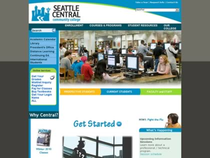 Cached version of Seattle Central Community College