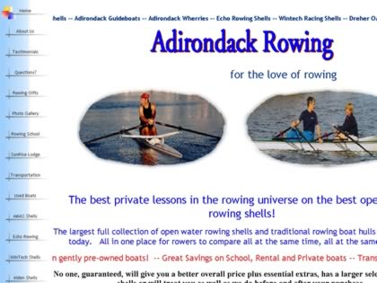 Cached version of Adirondack Rowing