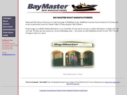 Cached version of BayMaster Boats