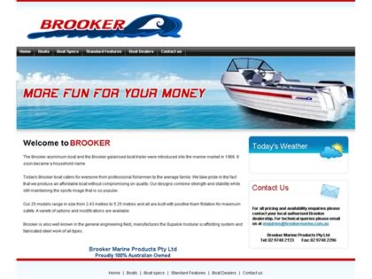 Cached version of Brooker Marine Products Pty Ltd