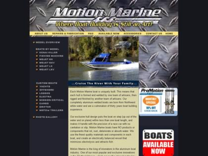 Cached version of Motion Marine
