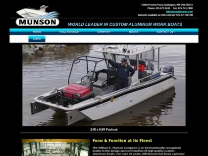 Cached version of Munson Boats