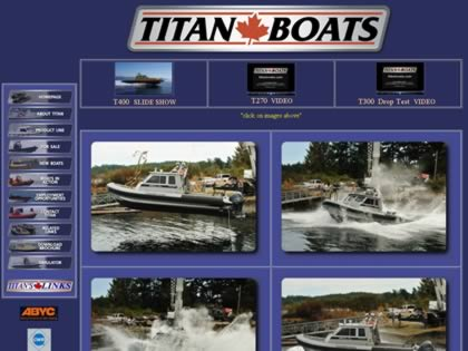 Cached version of Titan Boats