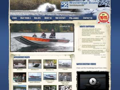 Cached version of Wooldridge Boats, Inc.