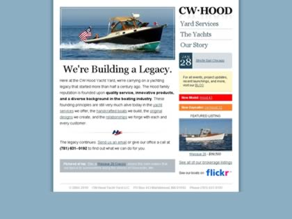Cached version of C.W. Hood Yachts, Inc.