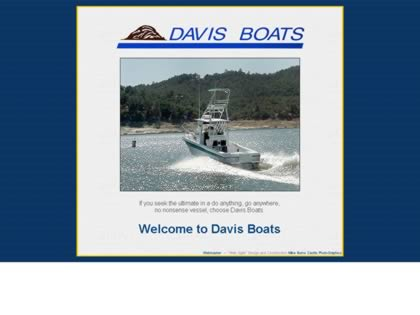 Cached version of Davis Boats