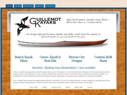 Cached version of Guillemot Kayaks
