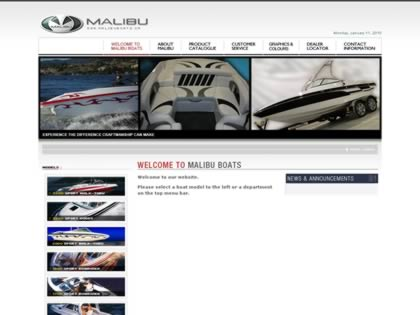 Cached version of Malibu Boats