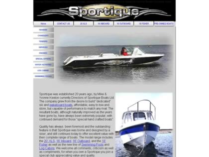 Cached version of Sportique Boats