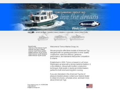 Cached version of Tomco Marine Group, Inc.