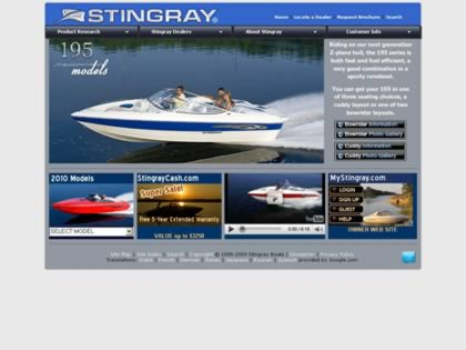 Cached version of Stingray Powerboats