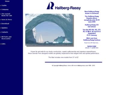 Cached version of Hallberg-Rassy