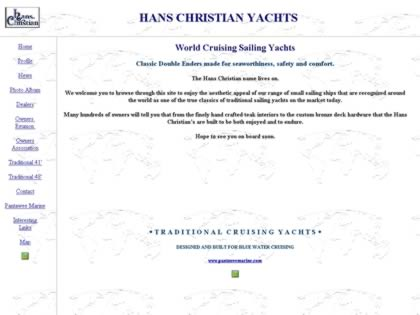 Cached version of Hans Christian Yachts