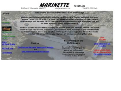 Cached version of Marinette Yachts Incorporated