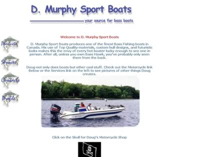 Cached version of D. Murphy Sport Boats