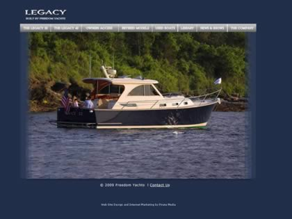 Cached version of Legacy Yachts