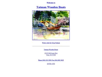 Cached version of Greg Tatman Wooden Boats