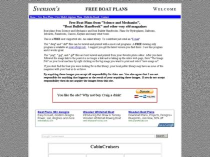 Cached version of Free Boat Plans