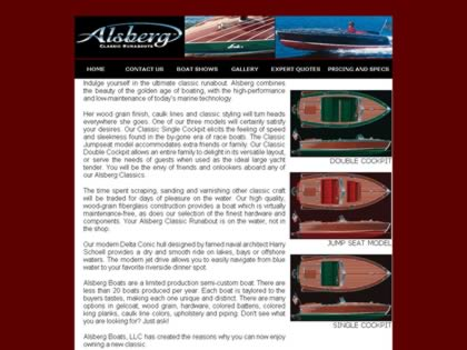 Cached version of Alsberg Classic Runabouts