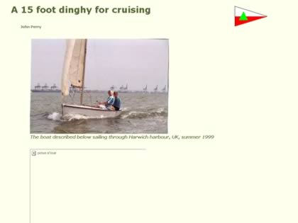 Cached version of A fifteen foot dinghy for cruising