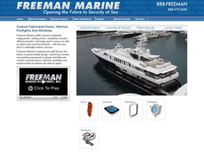 Cached version of Freeman Marine Equipment