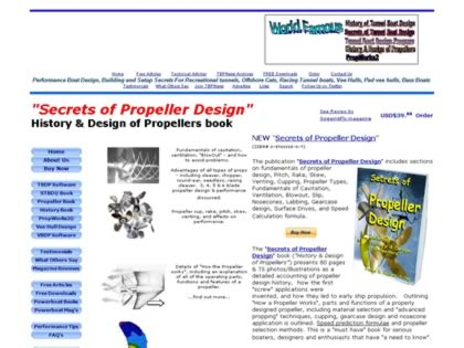 Cached version of History and Design of Propellers