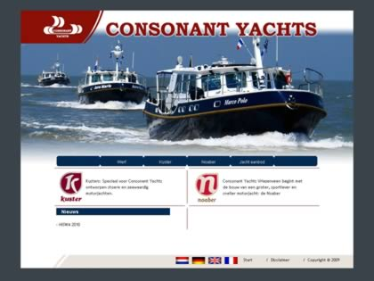 Cached version of Consonant Yachts