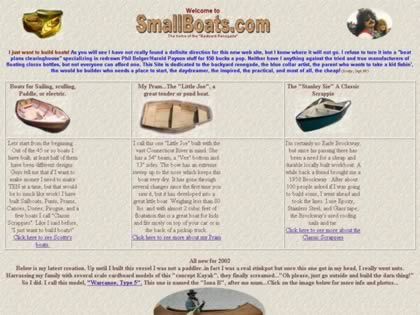 Cached version of Small Boats