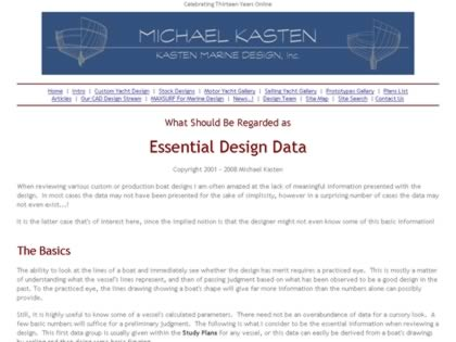 Cached version of Essential Design Data